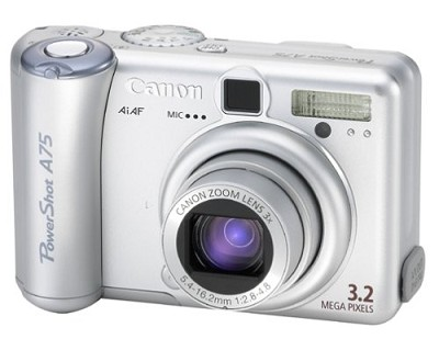 Powershot A75 Digital Camera