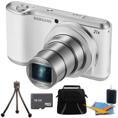 GC200 16.3MP 21x Opt Zoom Full HD 1920 x 1080 Galaxy Camera 2 White Kit