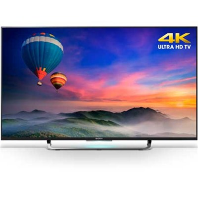 XBR-49X830C - 49-Inch 4K Ultra HD Smart Android LED HDTV - OPEN BOX