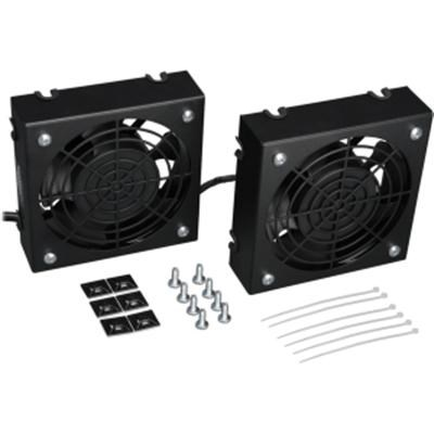 Wallmount Rack Enclosure Cooling Roof Fan Kit - SRFANWM