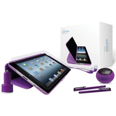 iPad Mini Starter Accessory Bundle - Purple