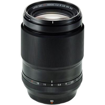 Fujinon XF90mm F2 R LM W Fast-Aperture Lens - OPEN BOX