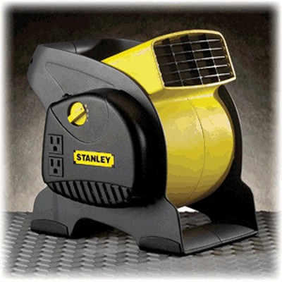 Lasko 655702 Stanley Multi-Purpose Pivoting Blower Fan, 3-Speed