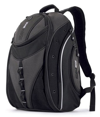 Express Backpack - Notebook carrying backpack - 16` - black, silver