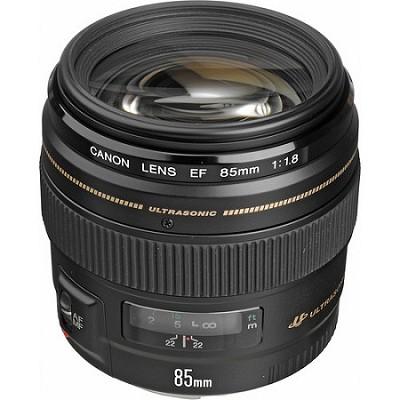 EF 85mm f/1.8 USM Medium Telephoto Lens for Canon SLR Cameras