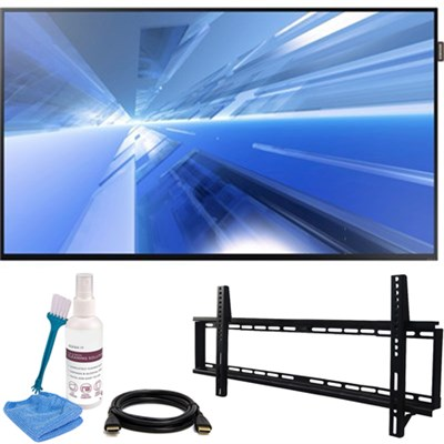 40` 1080p Direct-Lit LED Display DM40E with Wall Mount Kit