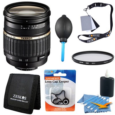 17-50mm f/2.8 XR Di-II LD [IF] SP AF Zoom Lens Kit f/ Nikon D40 (Built-in Motor)