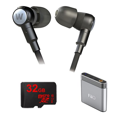 Adventure Series Beta High Performance Earphones- 78401 w/ FiiO A1 Amp Bundle