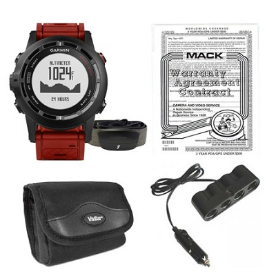 fenix 2 Special Edition Multisport Watch, HRM-Run Monitorm and Warranty Bundle