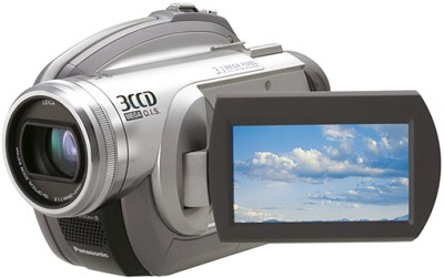 VDR-D310 - 3CCD DVD Camcorder, 10x Zoom, 3.1 MP Still, SD Card Slot, 2.7` LCD