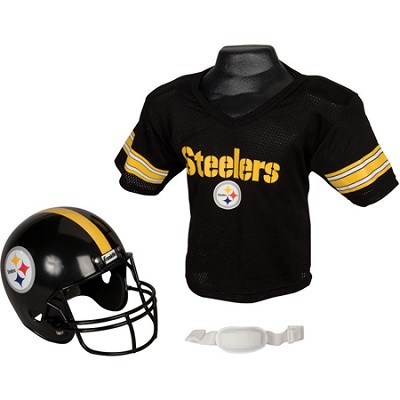 NFL Replica Youth Helmet and Jersey Set - Pittsburgh Steelers