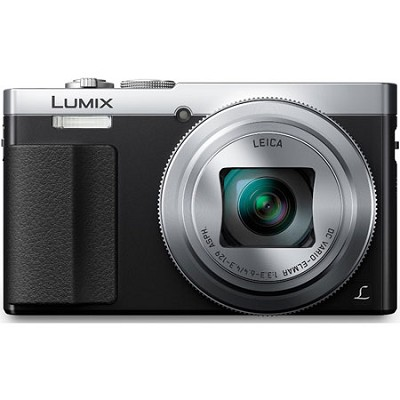 LUMIX ZS50 30X Travel Zoom Silver Digital Camera with Eye Viewfinder