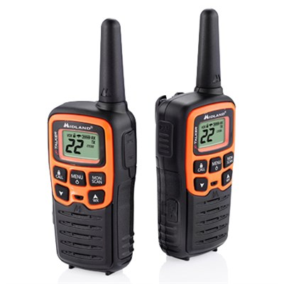 T51VP3 22 Channel/28 Mile Two Way Radio with 38 CTCSS