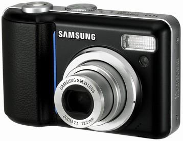 Digimax S800 8.1 mega-pixel Digital Camera (Black)
