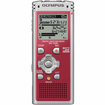WS-700M - Digital Voice Recorder 142630 (Red)
