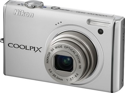 COOLPIX S640 Digital Camera (Pearl White)