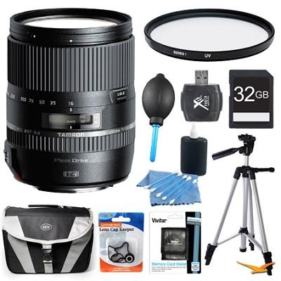 16-300mm f/3.5-6.3 Di II PZD MACRO Lens Pro Kit for Sony Cameras