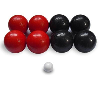 Composite Molded Bocce 10-Piece Ball Set with Storage Bag 357171