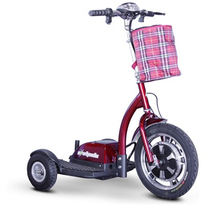 Stand and Ride Scooter - Red - EW-18