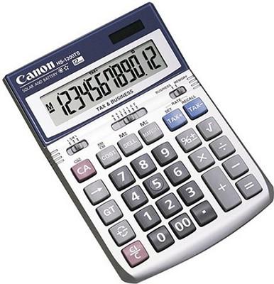 HS-1200TS Desktop Calculator (7438A003AA)