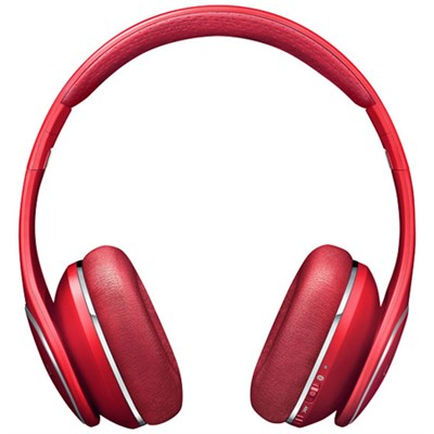 Level On Noise Cancellation Wireless Headphones - Red