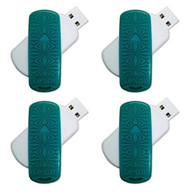 16 GB JumpDrive S33 USB 3.0 Flash Drive 4-Pack (64GB Total)