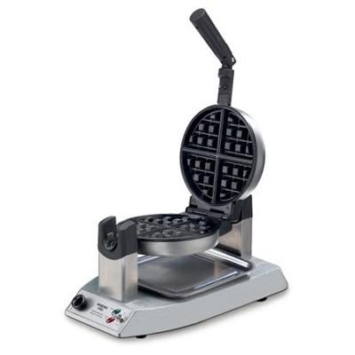 Stainless Steel single Belgian Waffle Maker - Factory Refurbished