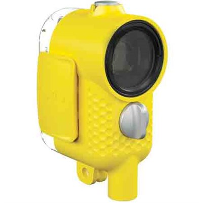 Outdoor Waterproof Shell Camera Case (Yellow)