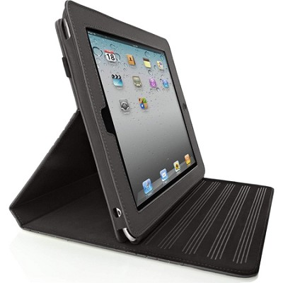Flip Folio Stand for Apple iPad 2 (Blacktop/Midnight)