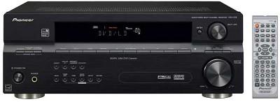 VSX-516K 7.1-channel A/V receiver w/ Sound Retriever, WMA9 Pro (Black)