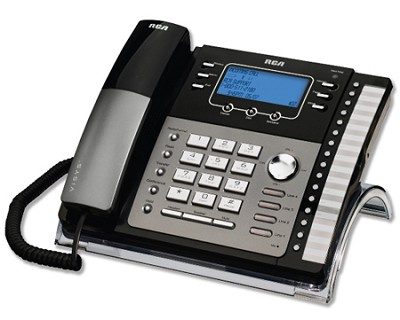 4-Line Expandable System Phone with Call Waiting/Caller ID