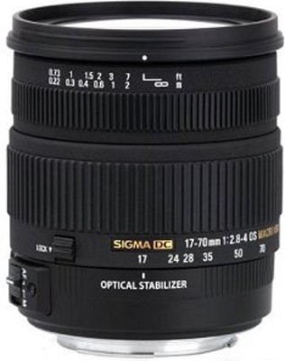 17-70mm f/2.8-4 DC Macro OS HSM Lens for Canon Mount Digital SLR Cameras - OPEN