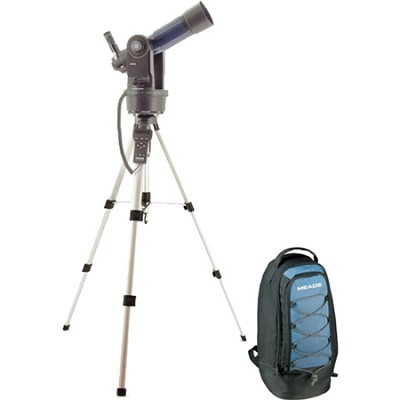 ETX-80AT-TC Astro Telescope with AutoStar Backpack Version