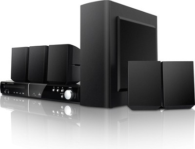 5.1 Channel DVD Player/Receiver Home Theater Speaker System with USB & SD Input