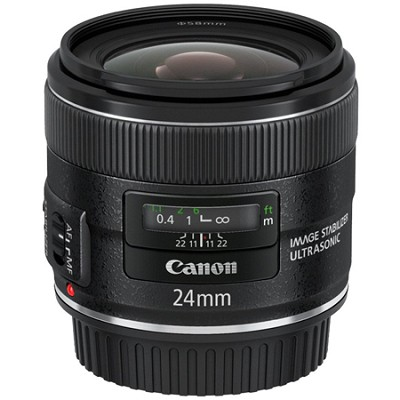 EF 24mm f/2.8 IS USM Lens, CANON AUTHORIZED USA DEALER WARRANTY INCLUDED