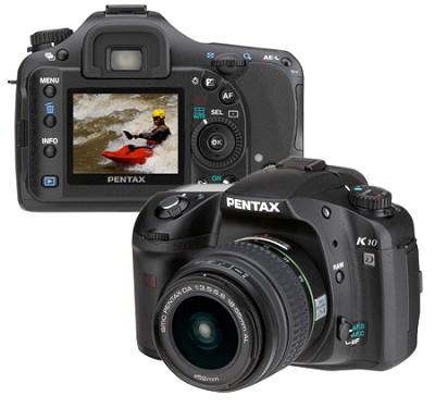 K10D 10MP Digital SLR Body with 18-55mm Lens Kit