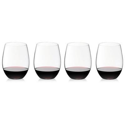 Crystal 'O' Wine Tumbler Cabernet/Merlot Glass - Set of 4