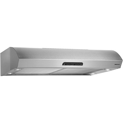 300 CFM 30` wide Under cabinet Range Hood in Stainless Steel -QP130SS