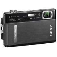 Cyber-shot DSC-T500 10.1 MP Digital Camera 3.5in Touchscreen (Black)-REFURBISHED