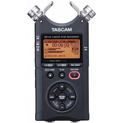 DR-40 - Portable Digital Recorder
