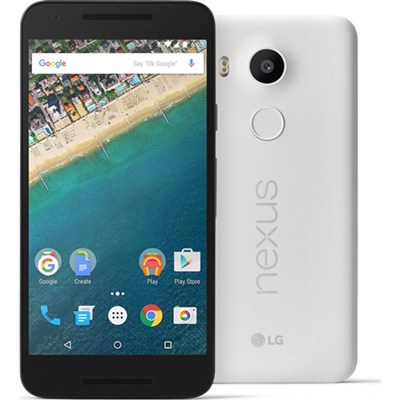 H790 Google Nexus 5X 16GB Unlocked Smartphone - Quartz White