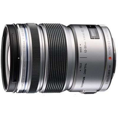 M.ZUIKO DIGITAL ED 12-50mm F3.5-6.3 EZ Lens (Silver) - V314040SU000