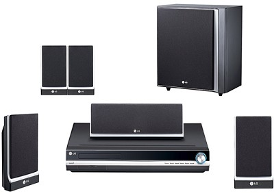 LHT754 - DVD Home Theater System w/ upconversion, XM Ready, iPod Control