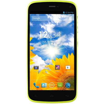 Lifeplay 4.7-Inch Android 4.2 Jelly Bean 4G Unlocked Smart Phone (Yellow)
