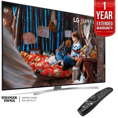 SUPER UHD 86` 4K Smart HDR LED TV + 1 Year Extended Warranty
