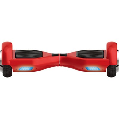 Balancing Horizontal Electric Scooter with Front LED Lights (Red)