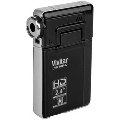 8.1 MP HD Digital Camera with 2.4 TFT - Black - (DVR925HD-BLACK-MCF)