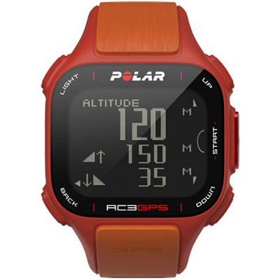 RC3 GPS Watch - Red/Orange (90047381)