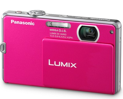 DMC-FP1P LUMIX 12.1 MP Digital Camera (Pink)