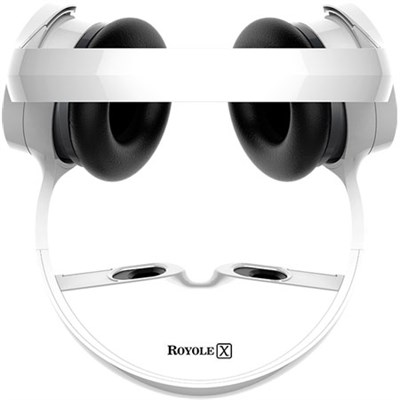 X The World's First Virtual Mobile Theater (White)